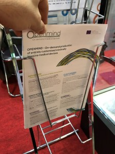 Openmind project: our partner GIMAC at MedTec Japan 2017, Tokyo (Japan)