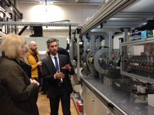 Visit at Fraunhofer IPT Labs, Aachen (Germany), 26 January 2018